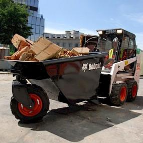 Бункер для мусора - самосвальный Bobcat
