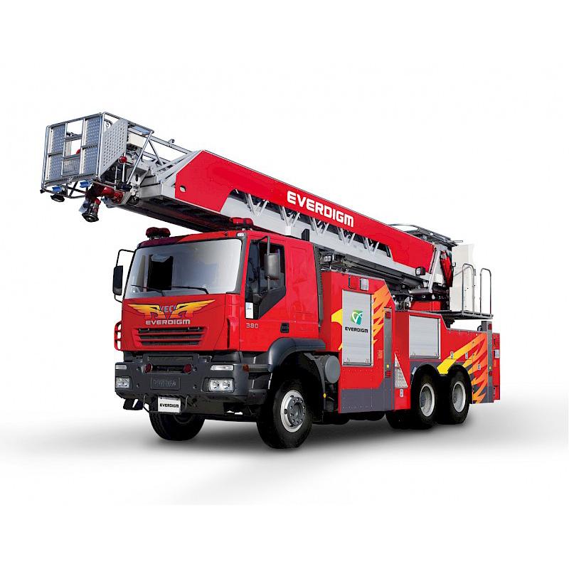 Пожарная телескопическая лестница