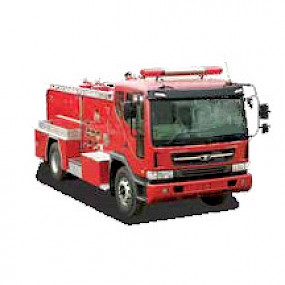Пожарная автоцистерна Everdigm EPT 17,0 тонн.