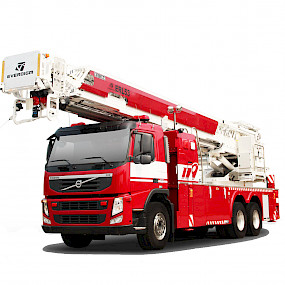 Пожарная автолестница EVERDIGM ERL53, 53м
