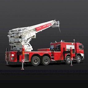 Пожарная автолестница EVERDIGM ERL54C, 54м
